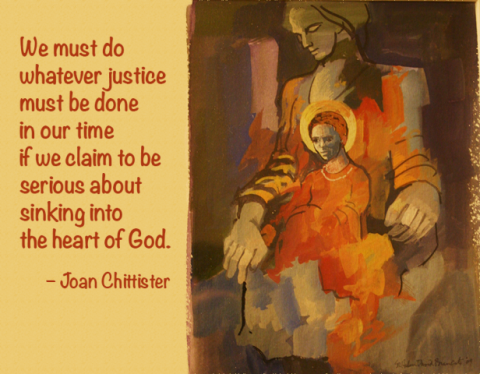 One Minute with Joan Chittister