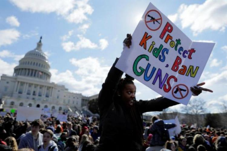 Young people are leading the way on guns.